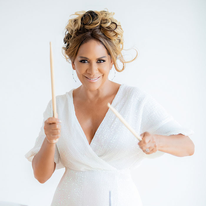 Sheila E<br>Percussionist and CBU Commercial Music<br>Steering Board Member